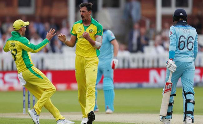 World Cup 2019 Mitchell Starc Sends Back the England Captain - Sakshi