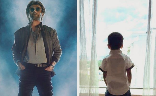 Soundarya Rajinikanth Shares Adorable Pic Of Son Pose From Petta - Sakshi