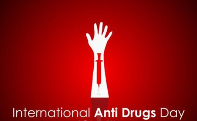 International Day against Drug Abuse and Illicit Trafficking - Sakshi