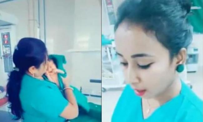 TikTok videos of nurses in Odisha hospital goviral  - Sakshi