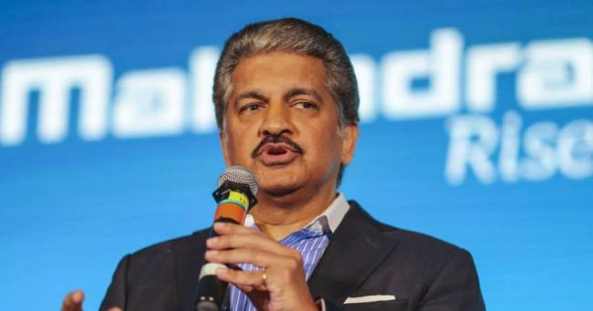 Anand Mahindra says lowering GST on automobiles would help the economy    - Sakshi