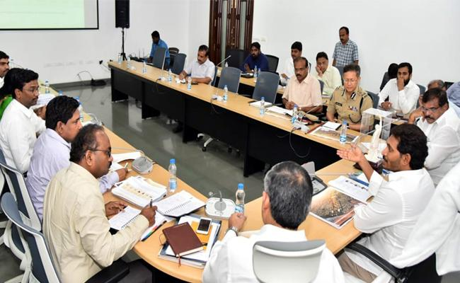 CM YS Jagan Mohan Reddy Review on CRDA - Sakshi