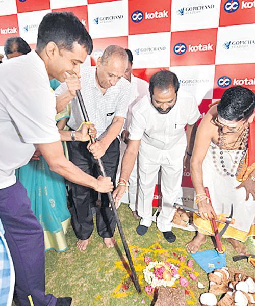 Stage set for global badminton centre in Telanga State - Sakshi