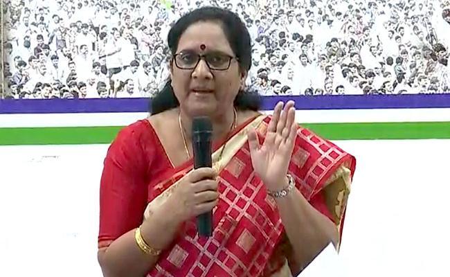 Vasireddy Padma Fires On TDP Leaders Over Illegal Constructions Demolition - Sakshi