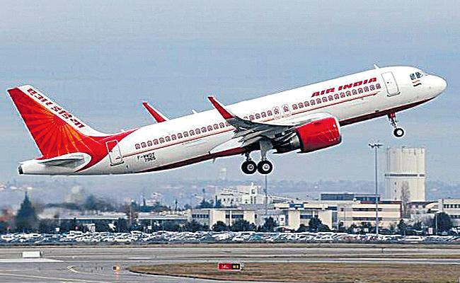 Air India Mumbai New York Flight Emergency Landing in London - Sakshi