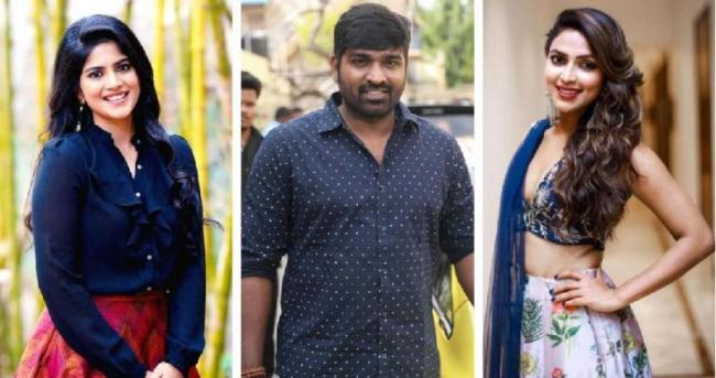 Amala Paul out, Megha Akash in for Vijay Sethupathi nextMmovie - Sakshi