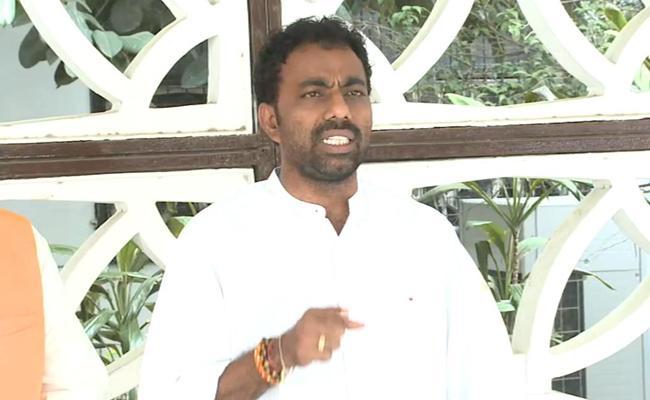 AP BJYM Leader Ramesh Naidu About Illegal Buildings - Sakshi