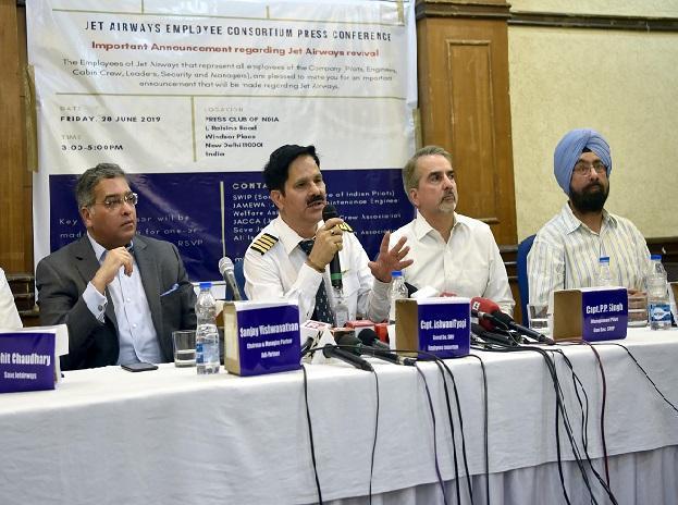 Jet Airways Employee Consortium AdiGroup to bid for 75 per cent of airlines - Sakshi