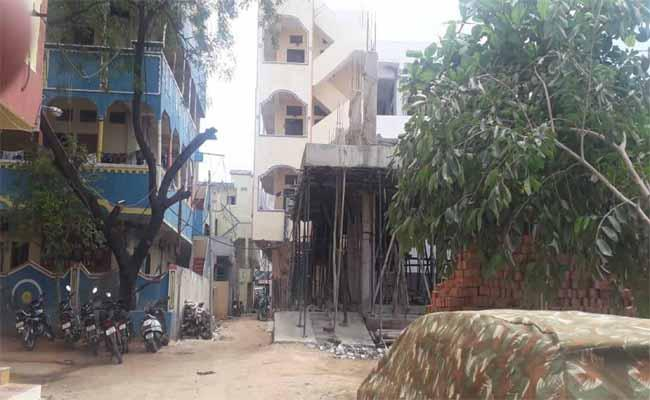 Illegal Constructions Take Place In Nizamabad District - Sakshi