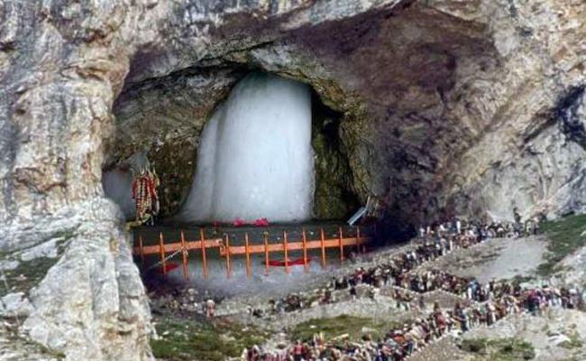 Amarnath Yatra begins From Monday - Sakshi