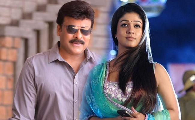 Nayanthara to Pair up With Chiranjeevi Again - Sakshi