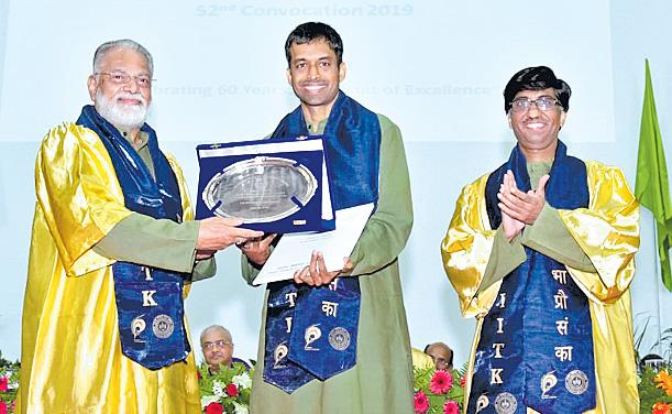IIT Kanpur Honours Pullela Gopichand with Honorary Doctorate - Sakshi