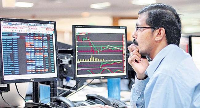 Sensex slumps 192 pts, Nifty below 11800 - Sakshi