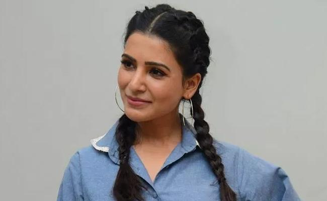 Samantha Oh Baby Movie Promotions - Sakshi