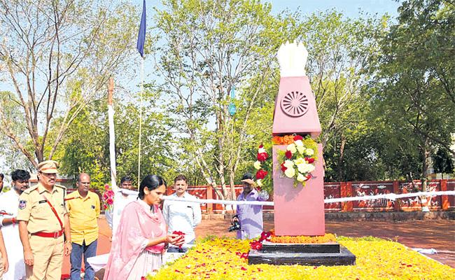 Telangana Formation Day Celebrations In Vikarabad - Sakshi