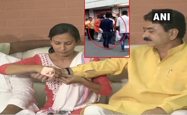 Nitu Tejwani is like my sister says BJP MLA Balram Thawani - Sakshi