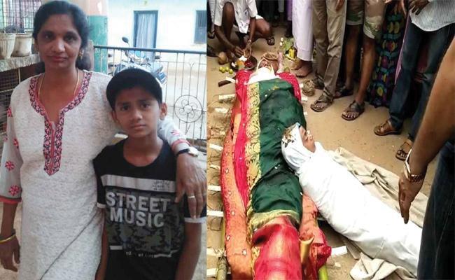 Bengaluru Man Hangs His Son and Daughter Shoots It On Cellphone - Sakshi