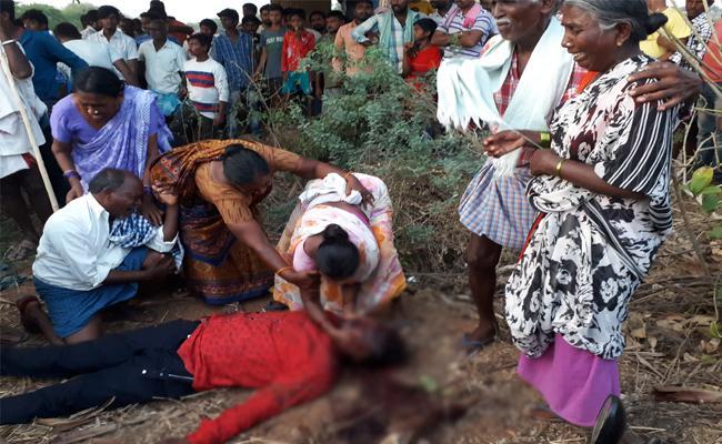 Young Man Brutal Murder In Nalgonda - Sakshi