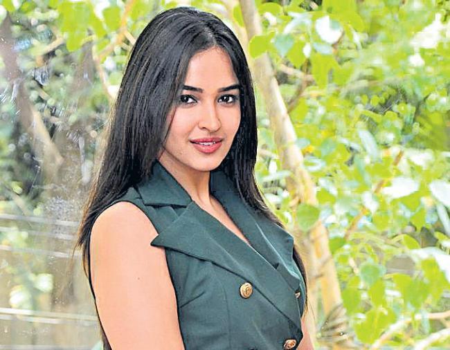 Pujita Ponnada at Seven Movie Interview - Sakshi