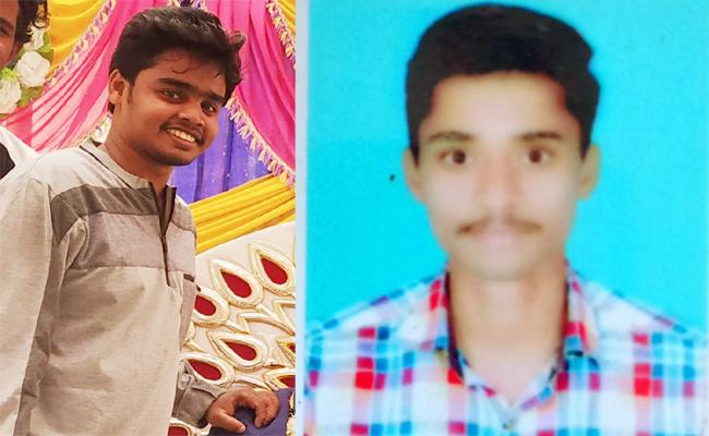 Two Youngmen Died in Bike Accident Visakhapatnam - Sakshi