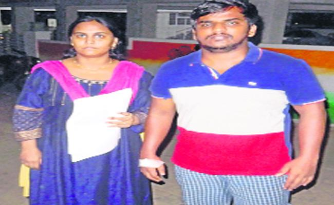 Student Attempt Suicide For Police Harass - Sakshi