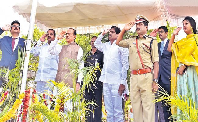 Telangana Formation Day Celebrations In Sangareddy - Sakshi