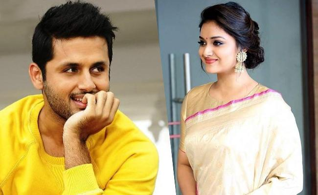 Will Keerthy Suresh To Join With Nitin In Venky Atluri Project - Sakshi