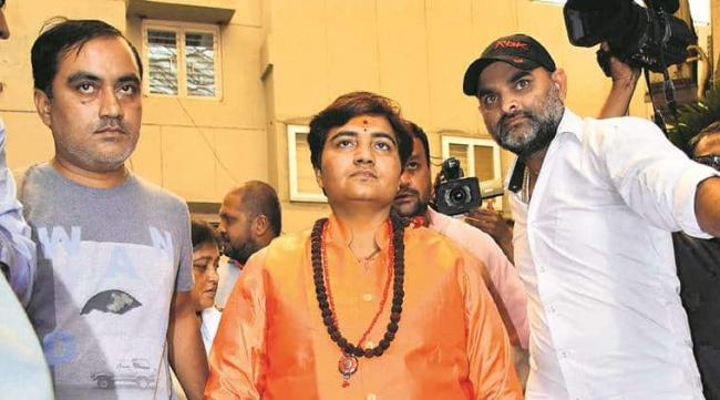 NIA Court Rejects Sadhvi Thakur Plea And Asks Her To Appear For Hearing - Sakshi