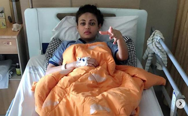 Sneha Ullal Suffering With Viral fever - Sakshi