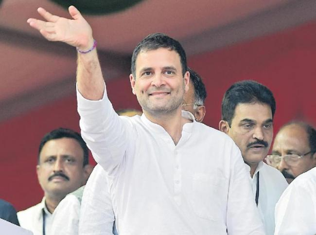 Rahul plans nationwide padyatra - Sakshi