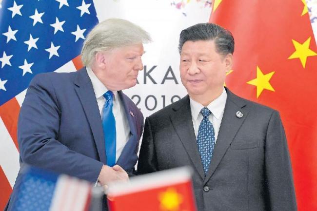 Trump and Xi agree to restart US-China trade talks - Sakshi