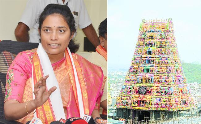 Durga Temple EO Koteswaramma On Events In Ashadam - Sakshi