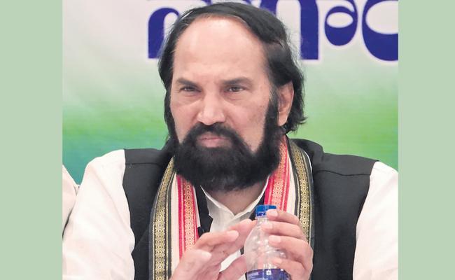Corruption In New Irrigation Projects Bring Into Light Says Uttam Kumar Reddy - Sakshi
