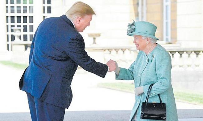 Donald Trump's state visit to the UK - Sakshi