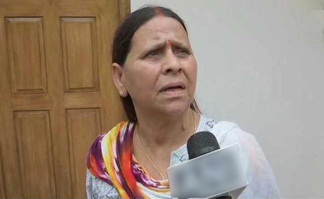 Rabri Devi Says No Objection If Nitish Kumar Returns To Grand Alliance - Sakshi