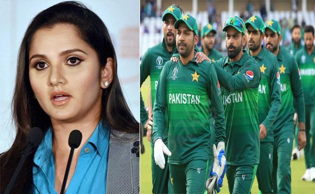 World Cup 2019 Sania Mirza Congratulates Pakistan Thrilling Win - Sakshi
