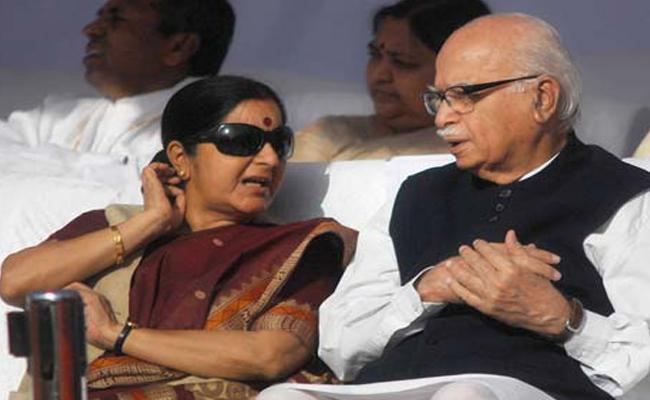 Sushma Swaraj LK Advani And Murli Manohar Joshi May Electe To Rajya Sabha - Sakshi