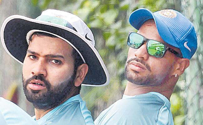Rohit and Dhawan did not run in partnership for some time - Sakshi