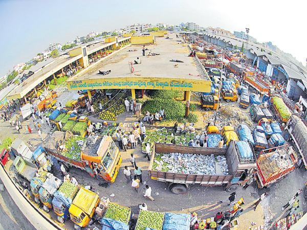 Another bus stand in the Hyderabad city - Sakshi