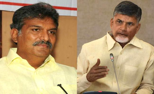 TDP MP Kesineni Nani Meets Chandrababu Naidu - Sakshi