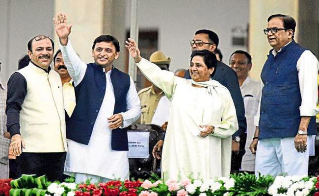 Mahagathbandhan Fails, Mayawati Blames SP For Failing - Sakshi