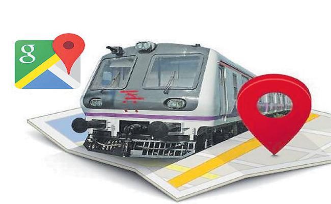 Train Timings in Google Maps - Sakshi