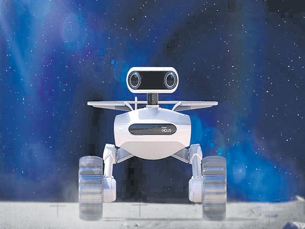 Our lander to the Moon - Sakshi