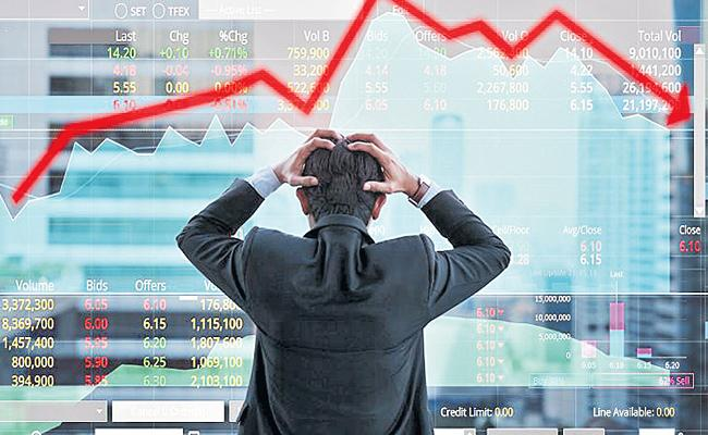 Stock Markets Close With Loss - Sakshi