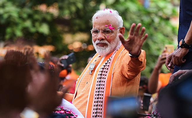 Upper Castes and Rich Section Support Modi in Lok sabha Elections - Sakshi