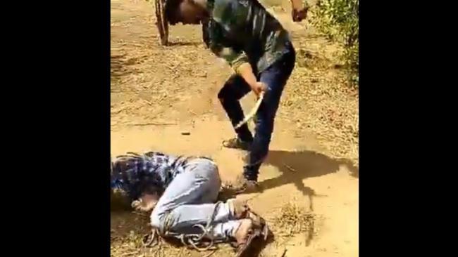 In Rajasthan Dalit Boy Tied Up Thrashed By Saffron Clad Men - Sakshi