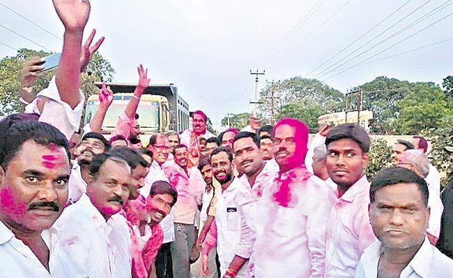 ZPTC Elections TRS Party Winning Josh In Rangareddy - Sakshi