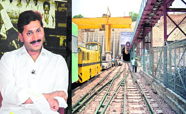 YS Jagan Promise on Veligonda Project - Sakshi