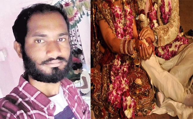 Man Suicide his Wedding Anniversary Day - Sakshi