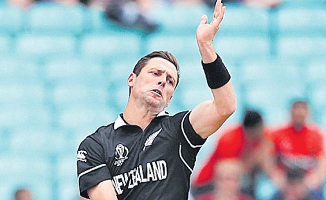 Matt Henry Four fer Helps New Zealand Bowl Bangladesh Out for 244 - Sakshi